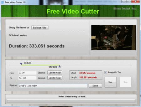 Video cutter software list