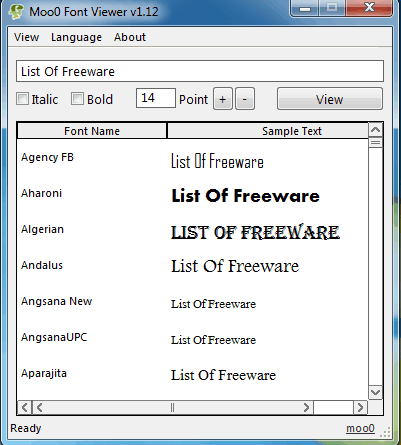 29 Best Free Font Viewer Software