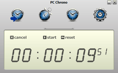 PC Chrono Is A Free Application To Set Countdown Timer On Your Computer Keeps Track Of Precious Time It Works As Stopwatch And