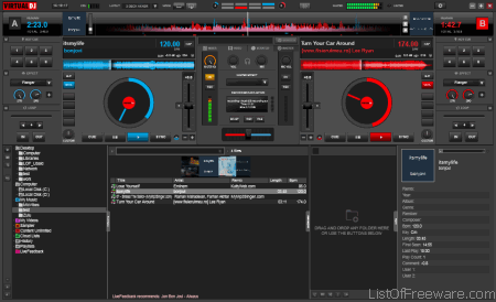 free best dj music mixing software 2014