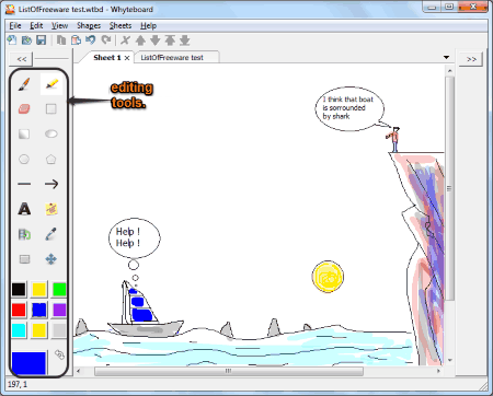 Interactive whiteboard software for pc