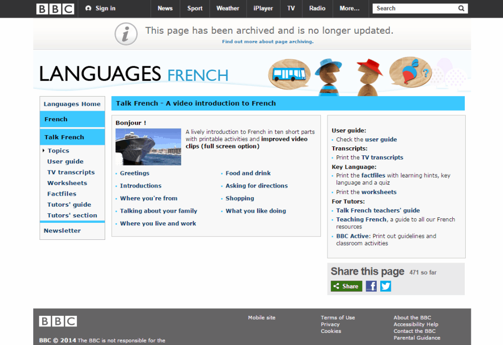 Learn French online: Free French lessons