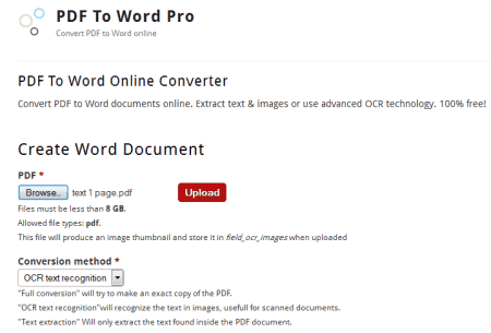 34 Best Free Online Pdf To Word Converters