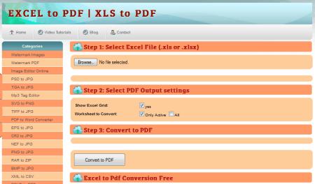 42 Best Free Excel To PDF Converter Online