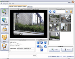 12 software to turn your computer into video surveillance system.
