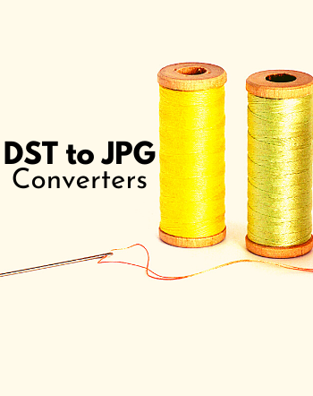 Best Free DST to JPG Converter Software for Windows