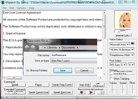 WAV Speech To Text Converter Software - Free download and software reviews - CNET Download