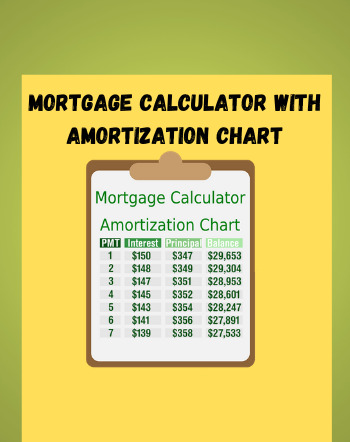 6 Best Free Mortgage Calculator With Amortization Chart Software For Windows