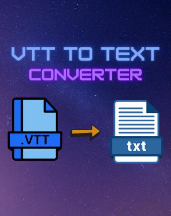 4 Best Free VTT to Text Converter Software For Windows