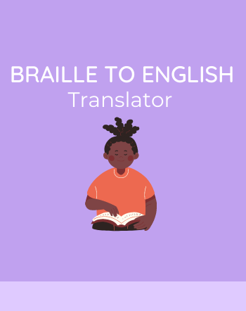 4 Best Free Braille to English Translator Converter Websites