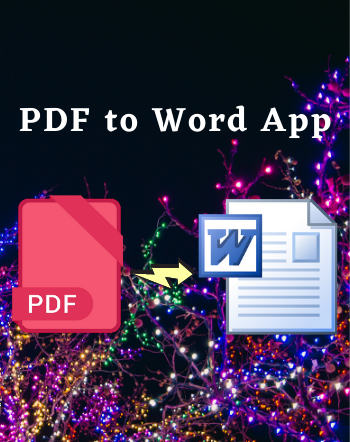 6 Best Free PDF to Word App For Android