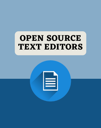 15 Free Open Source Text Editor for Windows