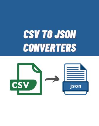8 Free Online CSV to JSON Converter Websites