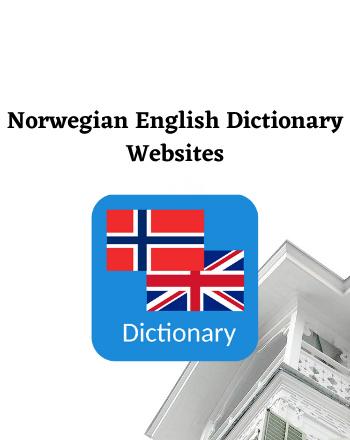 9 Best Free Norwegian English Dictionary Online Websites