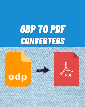 8 Free Online ODP to PDF Converter Websites