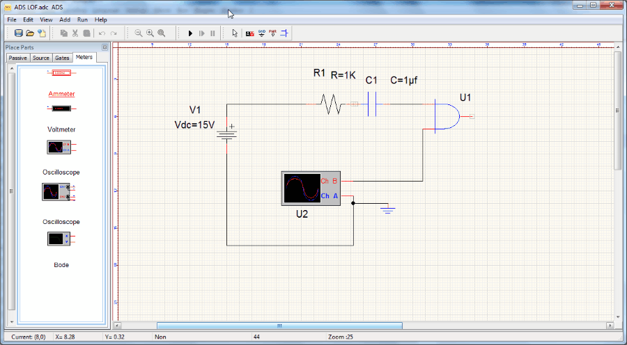 40 best free circuit design software for windows ads is an open source circuit design and circuit simulator software you will get a long list of components here resisters capacitors inductors asfbconference2016 Images