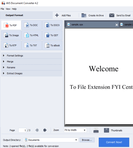 Best Free Software to Batch Convert XPS to PDF