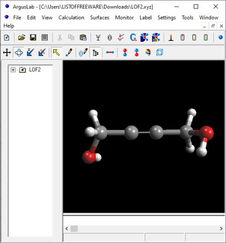 XYZ File Viewer Software