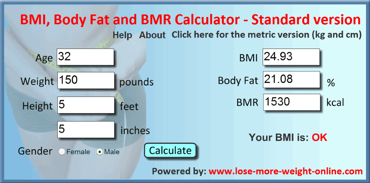 50 Best Free Bmi Calculator For Windows