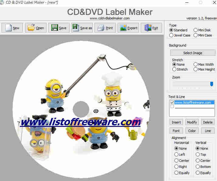 9 Free Best CD Label Maker Software For Windows