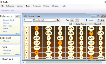 5 Best Free Guitar Scale Generator Software For Windows