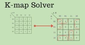 truth table, karnaugh map calculator, karnaugh map program, combinational logic, maurice karnaugh, edward w. veitch, boolean expression, karnaugh map for a full adder, karnaugh map 1.1 variables, karnaugh map creator, karnaugh map generator, logical graph, bitwise operation, karnaugh map boolean, de morgan's laws, karnaugh map algorithm, boolean algebra, binary decision diagram, consensus theorem, karnaugh map decimal number display, karnaugh map equation, karnaugh map 5 led circuit, karnaugh map excel, karnaugh map explorer, karnaugh map 2 column, boolean function, karnaugh map wrap around d, karnaugh map tutorial, on karnaugh map solver