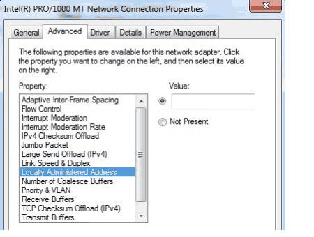Mac Address Changer Software Windows