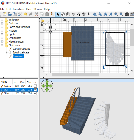 Sweet Home 3D Is A Free And Open Source Home Design Software For Windows.  It Is A Popular Interior Designing Software For Windows.