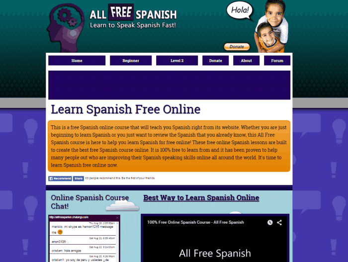 Spanish free online dating site