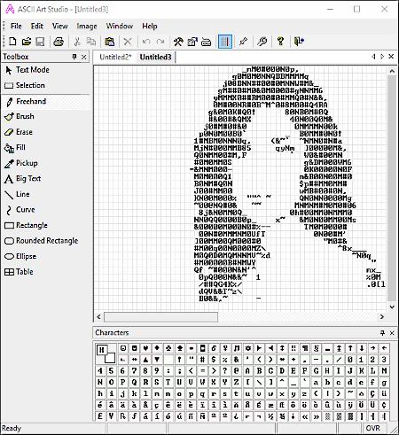 Generator ascii Generate ASCII