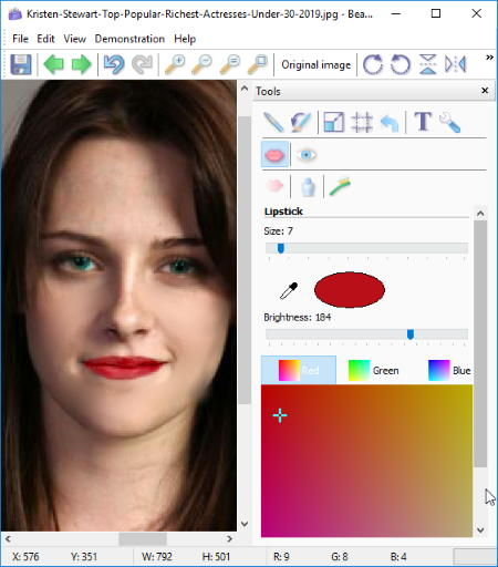 Beauty Guide Is Another One Of Free Makeup Photo Editor Software For Windows It A User