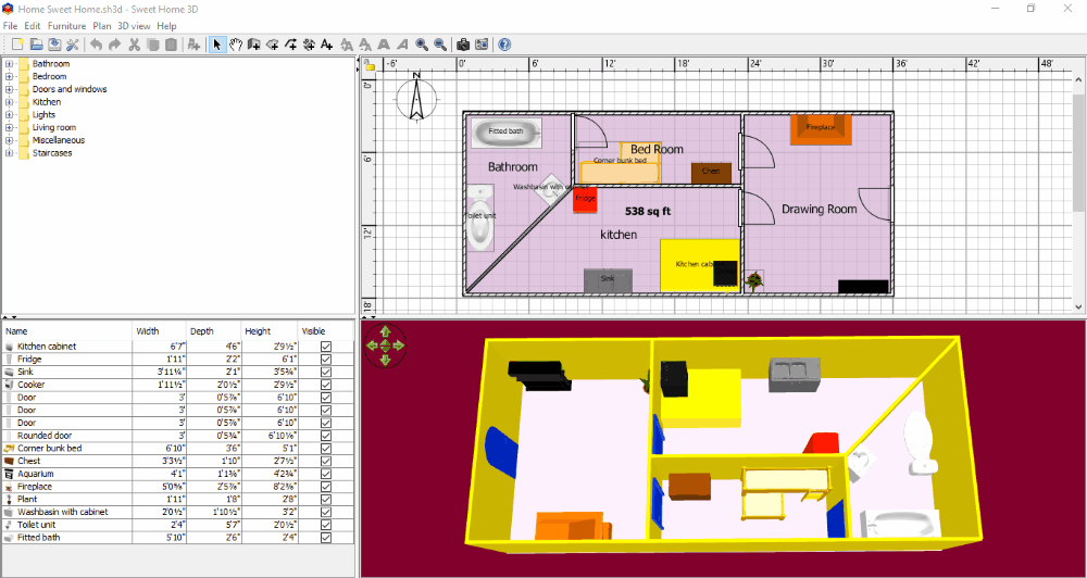 10 best free interior design software for windows - Best interior design software ...