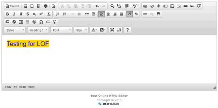 32 Best Free Online HTML Editor