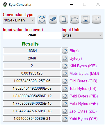 Byte Converter Is A Dedicated Unit To Convert Numeric Units Used For Digital Data Storage Here You Can Binary And Decimal Numbers Easily