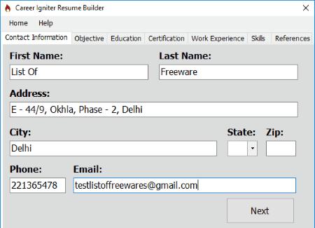 Free Resume Builder Software Top 5 Best Free Resume Builder