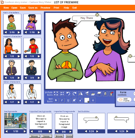 5 Best Free Comics Strip Creator Software For Windows