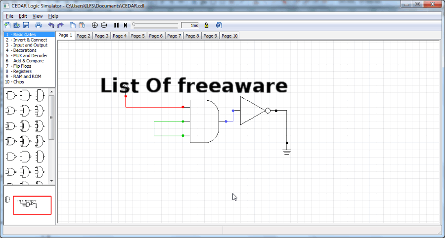 Logic Circuit Software - Library Of Wiring Diagrams •