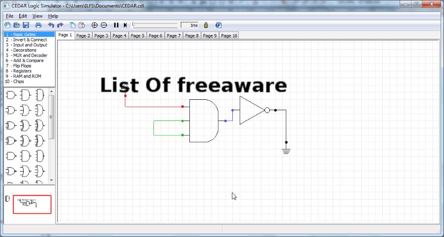 Java Logic Circuit Simulator - Wiring Diagram For Light Switch •