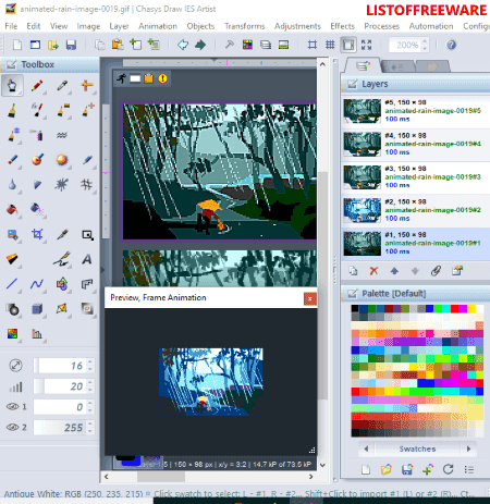 6 Best Free Animated Gif Editor Software For Windows