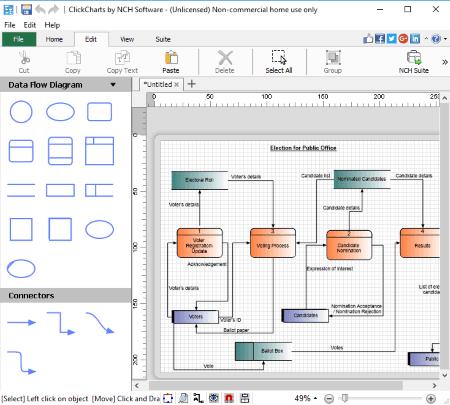 4 Best Free Data Flow Diagram Software For Windows