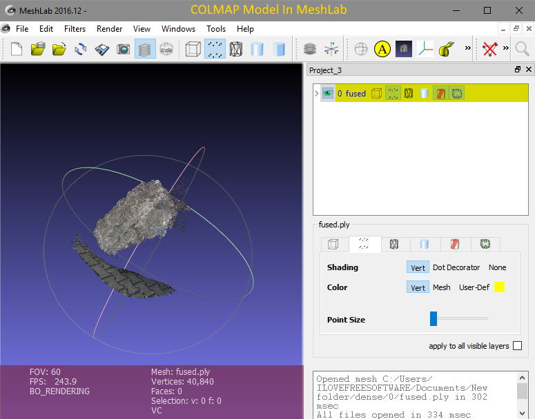 free photogrammetry software