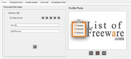 freeware resume writing software downloads