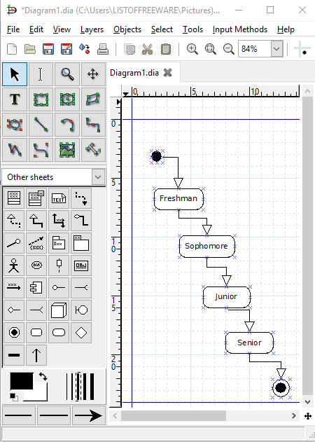 7 Best Free State Diagram Maker Software For Windows