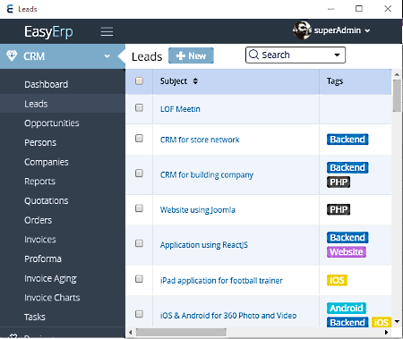 free open source crm software for windows