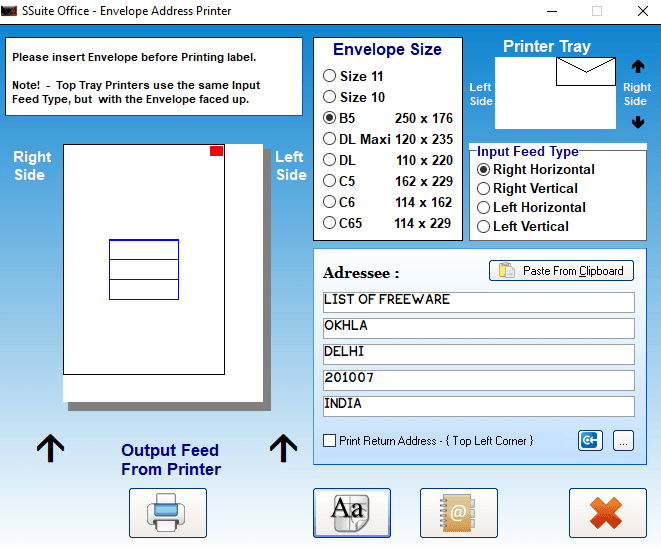 6 best free address label maker software for windows