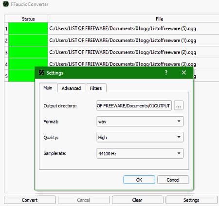 MP3 WAV OGG Converter - Free download and software reviews - CNET Download