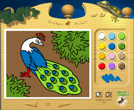 Ginkgo Paint Is A Free Coloring Book For Kids Windows This Software Comes With Child Friendly Interface That Makes It Easy To Understand