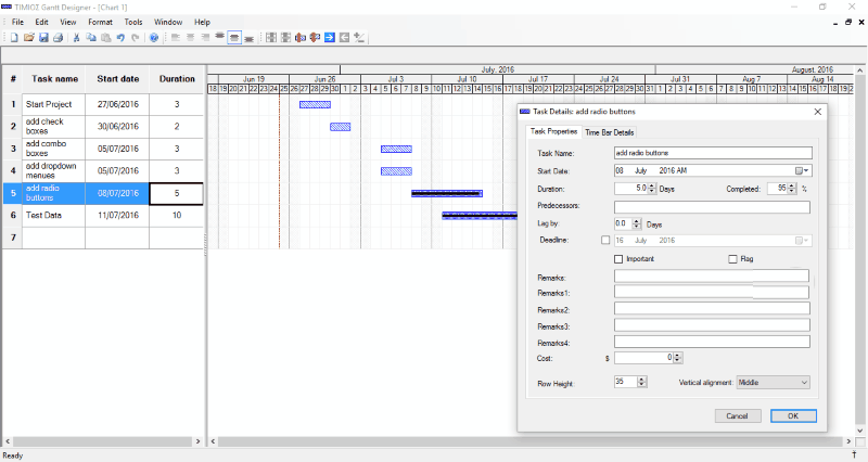 10 Best Free Gantt Chart Software For Windows