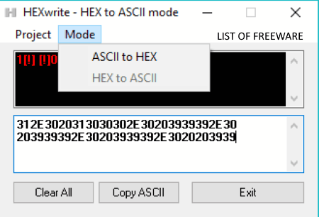 Online binary ascii converter