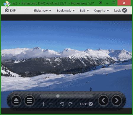 RW2 viewer software